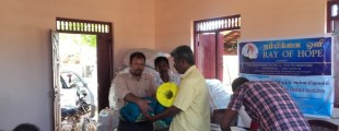 Ray of Hope Supports to Sampur fishermen